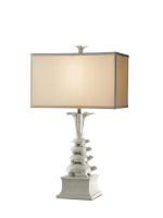 White Turtle Lamp