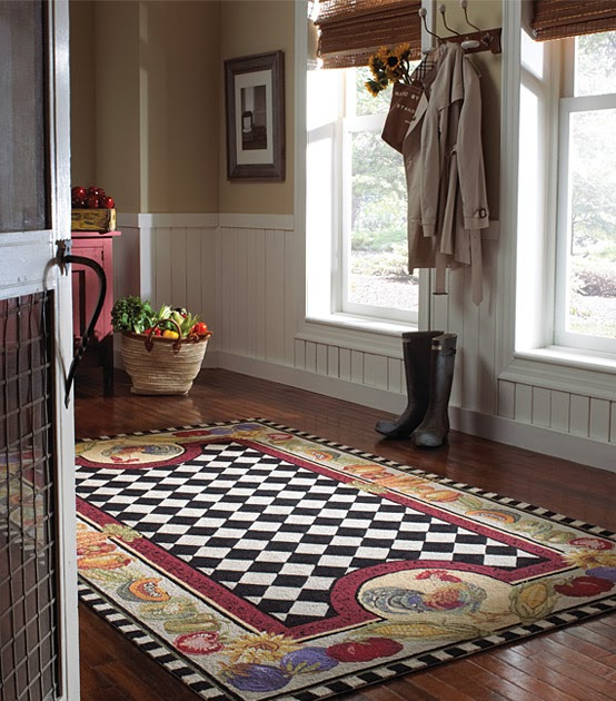 The Designer Insider: Casual Wool Rugs: Fruit And