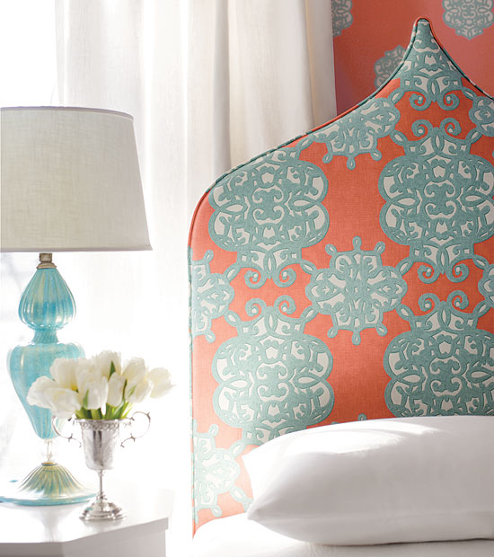 A blonde 39 s diy life coral and turquoise inspiration for Coral and turquoise bedroom ideas