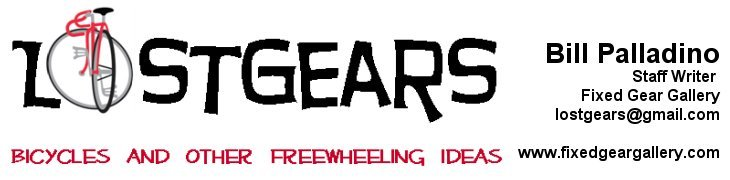 LostGears - Bicycles and Other Freewheeling Ideas