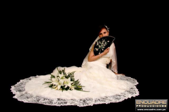 foto boda novios estudio lima peru