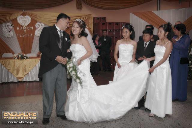 Foto boda novios Huancayo Perú