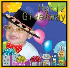 Hariz Giveaway (Due: 29 Mei 2010)