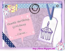 Double Birthday Giveaway by Liessa (Due: 31 Mei 2010)