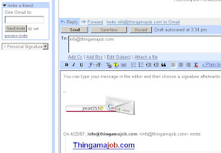 HTML Signature injecting in Gmail Reply