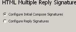 Reply Signatures Initial Composes and Replies