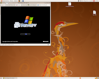 Boot Windows XP in Ubuntu using VMPlayer