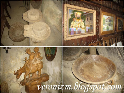 From ancient grinding stones to an antique grandfather clock and four