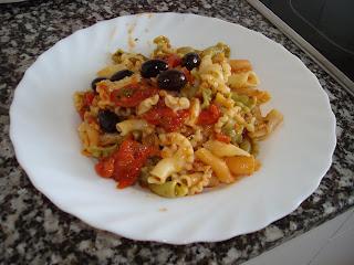 Autentica receta pasta puttanesca