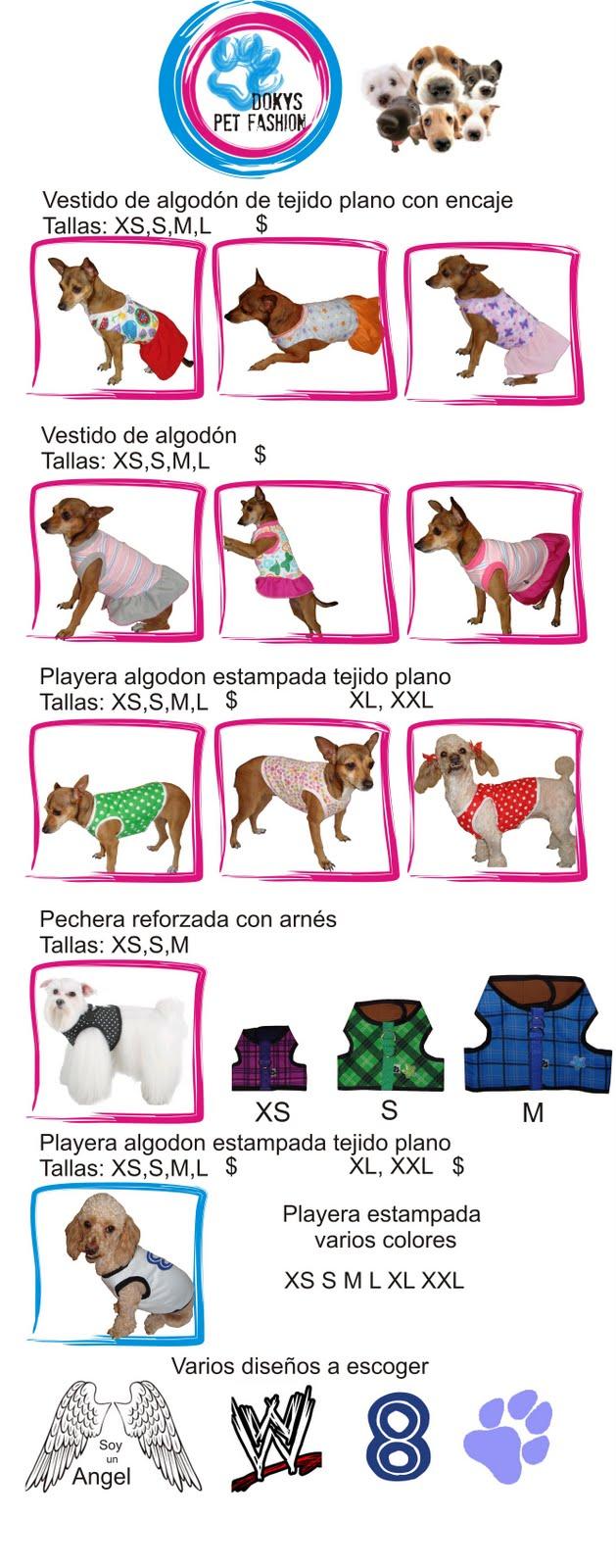 Fabrica de Ropa para perros