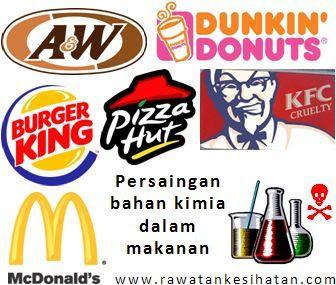Makanan segera ialah resepi kimia