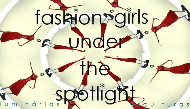fashion girls under the spotlight