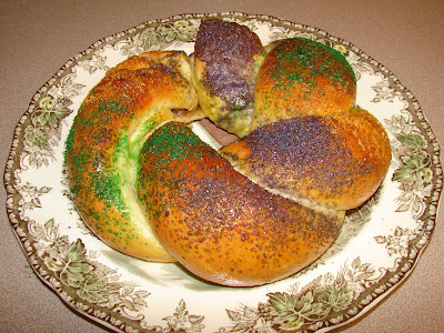 Catholic Cuisine: King Cake for Epiphany