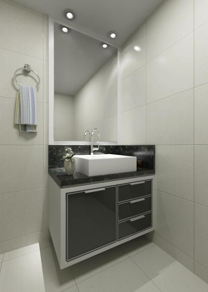 Móveis sob Medida e Decorações Móveis sob Medida  Banheiro -> Moveis Para Banheiro Pequeno Sob Medida