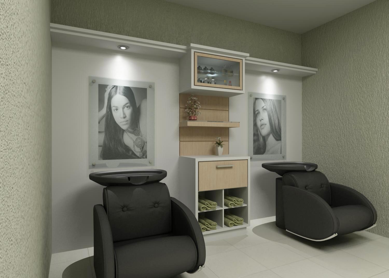 Móveis sob Medida e Decorações: Salao de beleza #5C4E38 1500x1071 Balcao Banheiro Florianopolis