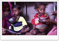 Food crisis ravages India's poorest children