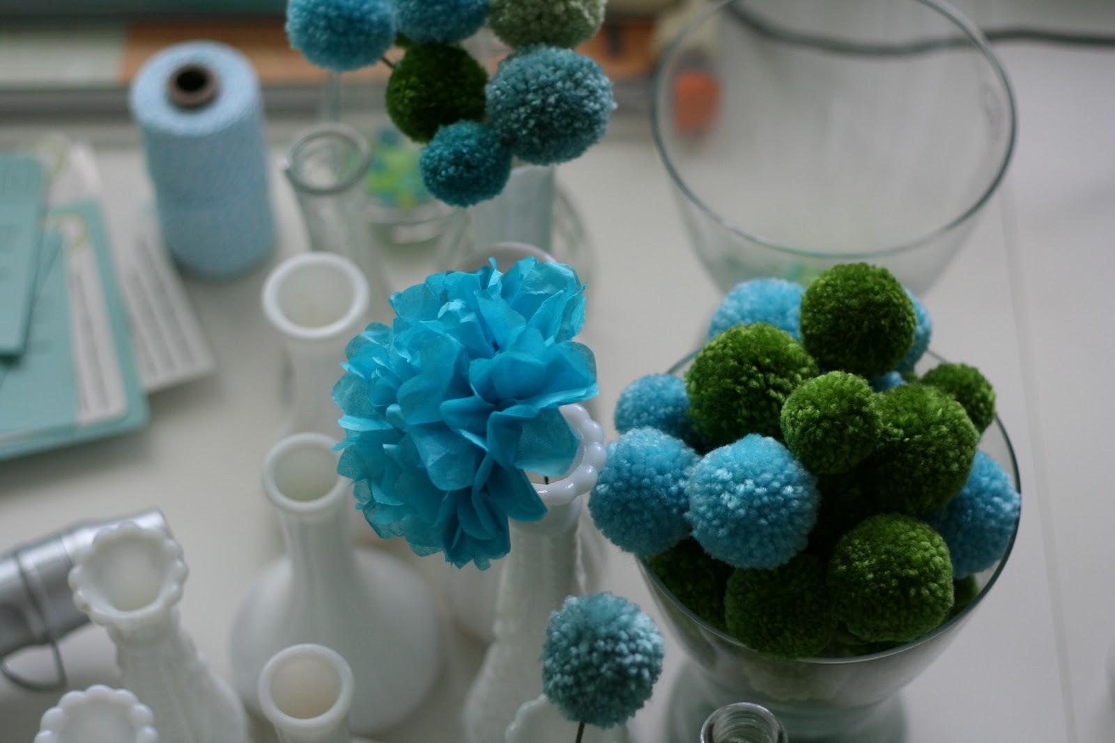 Dill Pickle Design Table Centerpieces