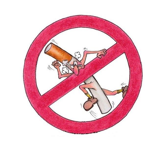 Graus de inclinação de nicotina