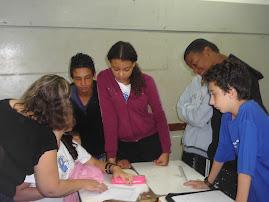 Projeto na Escola Dr. Domingos Pimentel de Ulhôa