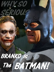 Miron is the Joker, Branko is Batman