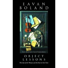 outside history eavan boland essay Eavan boland has recently published outside history: poems 1980-1990 with ww norton and is working on a book of essays.