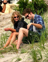 Emilie de Ravin with Robert Pattinson