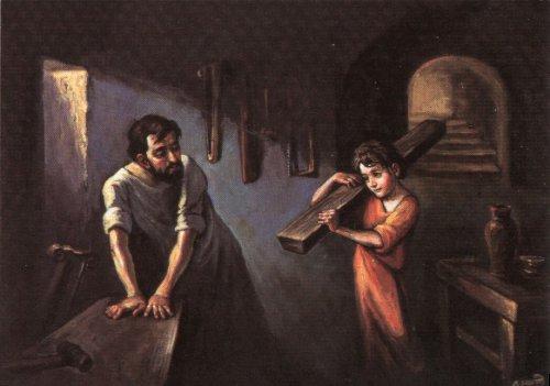 aprendiendo el noble oficio de la carpintería
