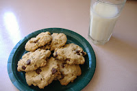 Peanut Butter- Chocolate Chip- Oatmeal Cookies
