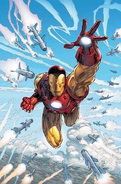 Marc Silvestri, Iron Man