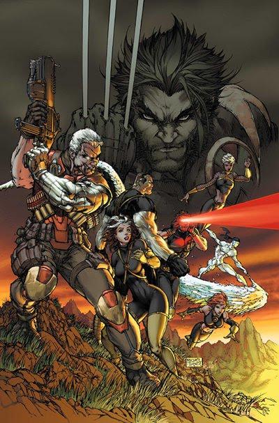 Michael Turner, X-Men