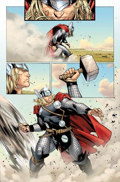 Olivier Coipel, Thor