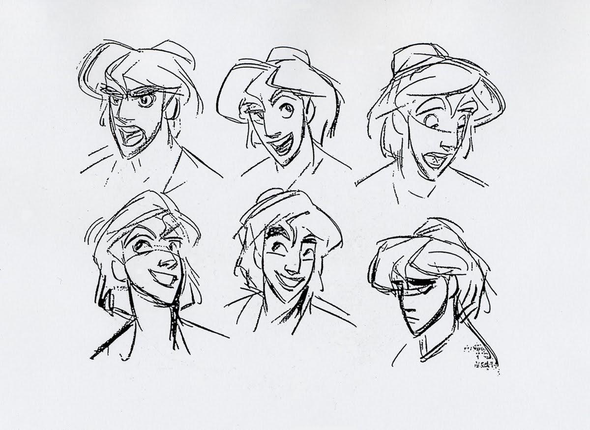 Disney Aladdin Character Design : Living lines library aladdin character design