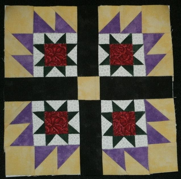 Quilt Patterns On Wisconsin Barns : Kim s Northwoods Discoveries: Bear Paw - Wisconsin Quilt Blocks on Barns, Block of the Week
