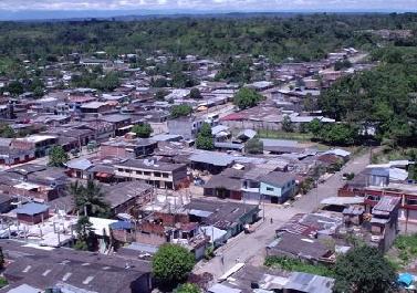 Panoramica municipio Valle de Guamuez