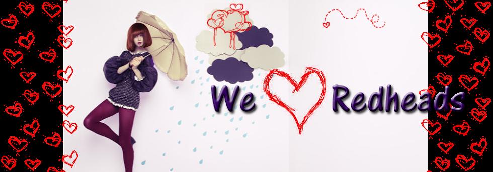We ♥ Redheads