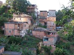 Casas em áreas de risco