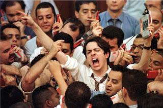 Bolsas de valores em queda por causa da crise - EUA
