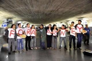 Dia 15 Manifestação pública pelo Brasil: ForaSarney