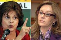Dilma Roussef e Lina Vieira se enfrentam no Senado Federal