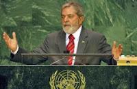 Lula em discurso na ONU