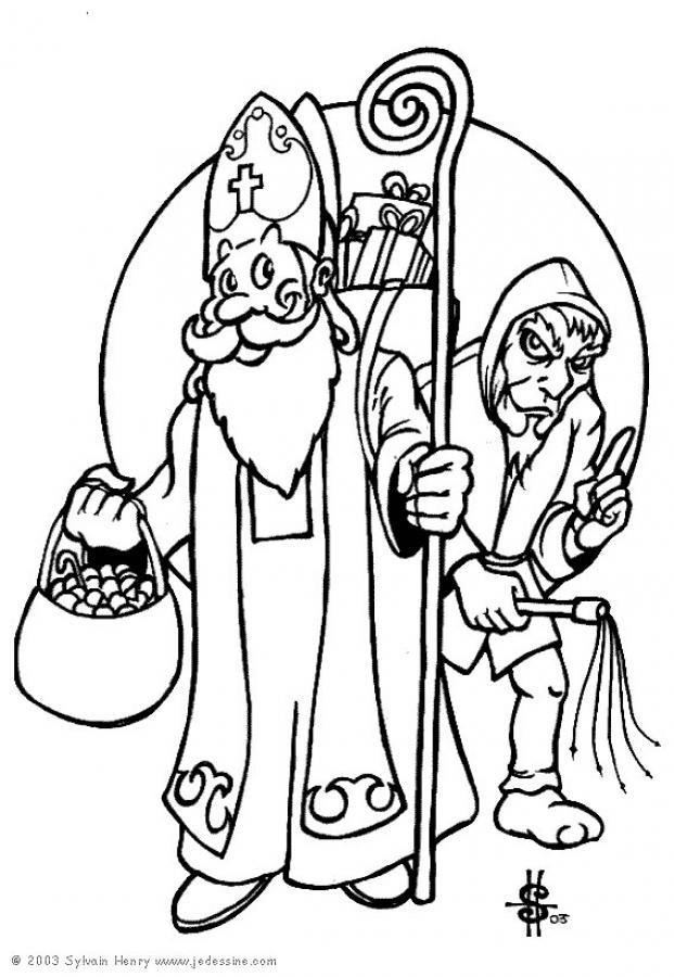 Рисунки ко дню святого николая своими руками