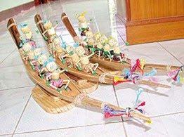 'เรือจำลอง' วัสดุ 'จั่นมะพร้าว' ก็เข้าท่า-1