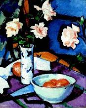 Roses & Chinese Vase
