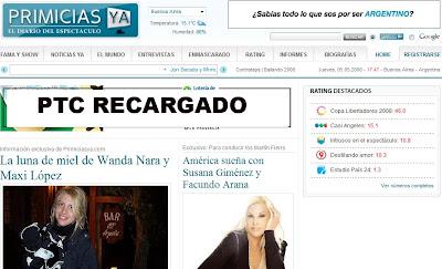 Ptc recargado blog volvio primicias ya for Espectaculo primicias ya
