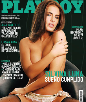 Silvina Luna Playboy Agosto Fotos Desnuda