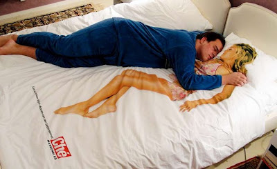 Sexy Bed Sheet Illusion