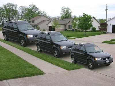 Sport utility vehicle illusion