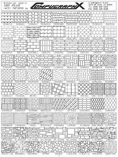 Auto Cad Stone Hatch Pattern 171 Free Knitting Patterns
