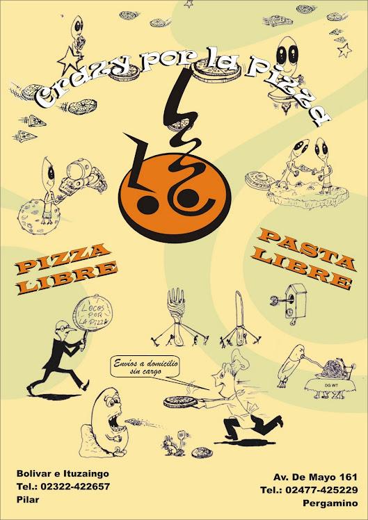Crazy por la Pizza