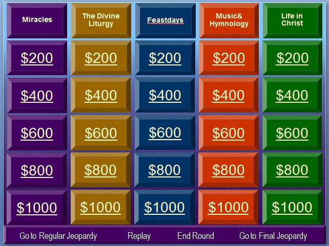 Bible Jeopardy Powerpoint Christmas Jeopardy Template Best Template Idea